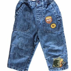 Disney Winnie the Pooh embroidered denim jeans